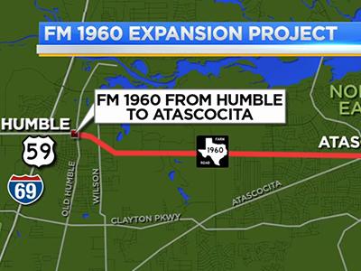 Houston District TXDOT  FM 1960